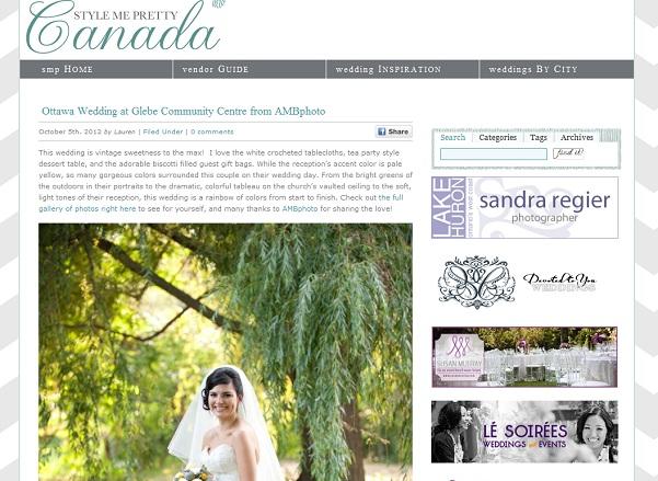 AMBphoto Ottawa and International wedding photography by Anne-Marie Bouchard
