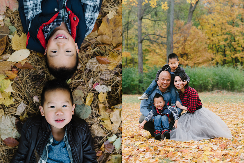 Family photo session in Hampton Park Ottawa