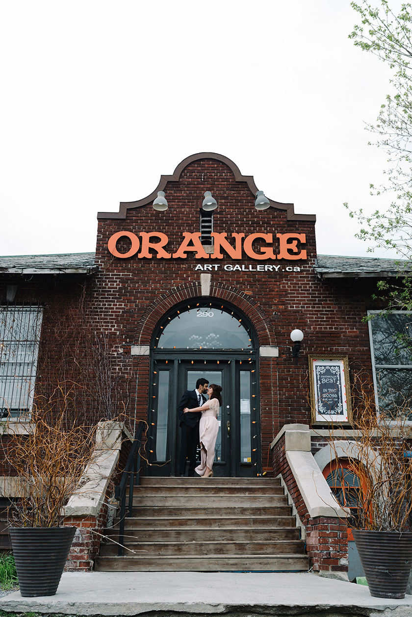 Orange Gallery Wedding